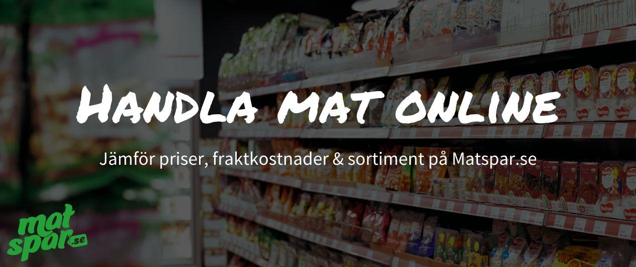 bästa mat online